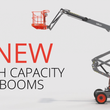 High Capacity Booms